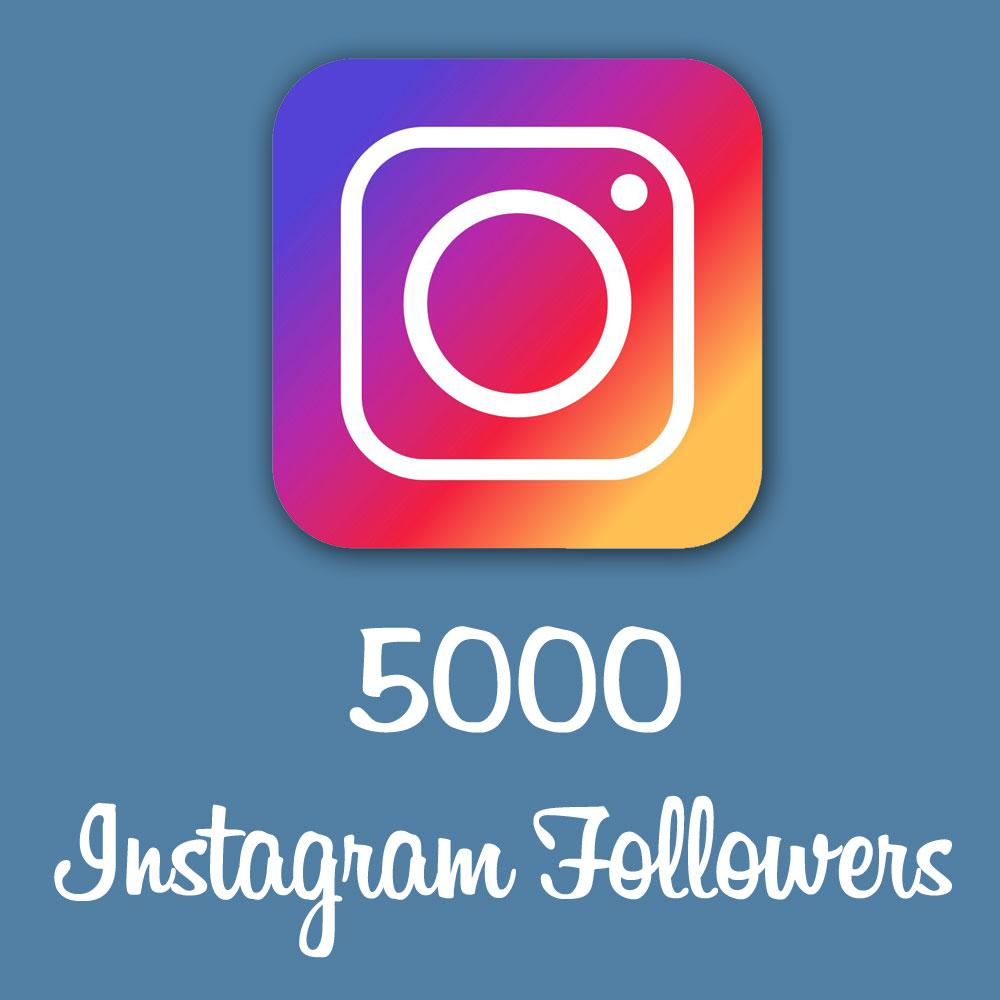 Get 5000 Instagram Followers